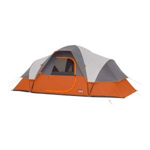 Core Extended Dome 9-person Family Tent for Camping