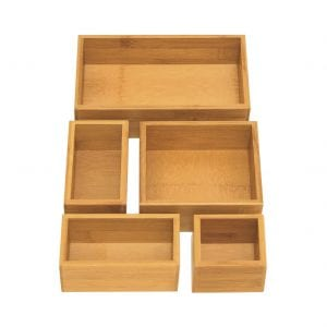 Seville Classics 5-Piece Storage Organizer