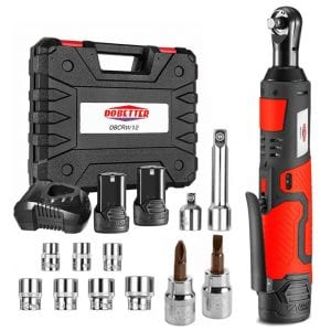 Dobetter DBCRW12 Cordless Electric Ratchet Wrench