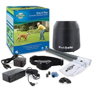 PetSafe Stay and Play Above Ground Electric Fence for Cats