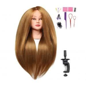 "SILKY 26-28"" Long Hair Mannequin"