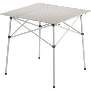 Coleman Camping Table with an Aluminum Tabletop