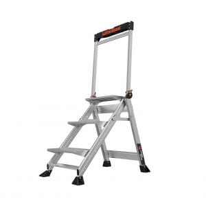 Little Giant Ladders 11903 Weight Rating Jumbo 3-Step Ladder