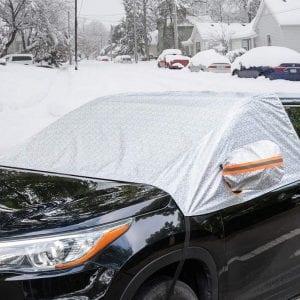 FrostGuard Plus Winter Mirror+Windshield Snow Covers