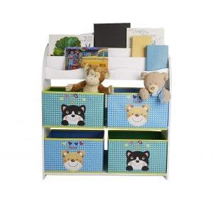 Mind Reader Toys Kids Bookcase