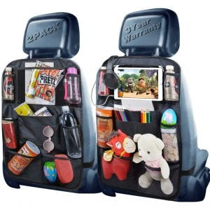 Phovana Backseat Organizer for Kids, 2 Pack