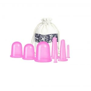 500-miles Cupping Therapy Sets (Pink)