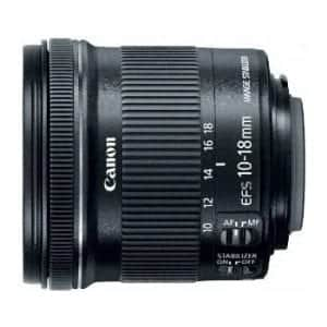 Canon EF-S f/4.5-5.6 IS 10-18mm STM Lens