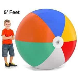 Top Race Giant Inflatable Beach Balls
