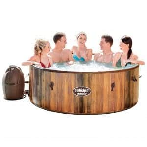 Bestway 54190E SaluSpa 7-Person Helsinki AirJet Inflatable Hot Tub
