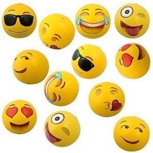 Emoji Universe 12-Inch Emoji Inflatable Beach Balls