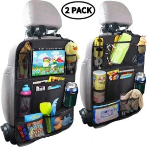 MZTDYTL Backseat Car Organizer for Kids & Toddlers (2 Pack)