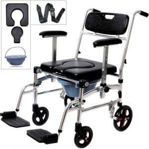 Nurth 4-in-1 Shower Wheelchair