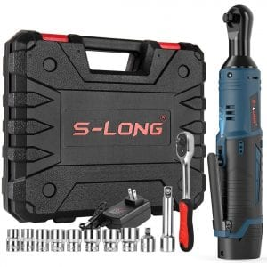 S-LONG Cordless Electric Power Ratchet Wrench