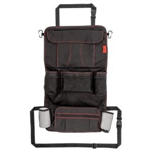 Lusso Gear Backseat Car Organizer with 12 Compartments