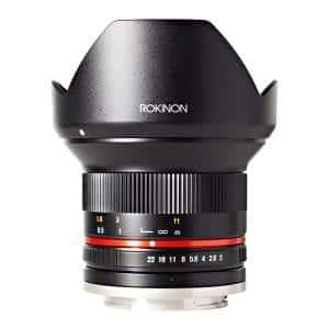 Rokinon RK12M-M Canon Ultra Wide Angle Lens (Black)