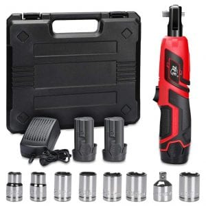 ZFE Cordless Electric Power Ratchet Wrench