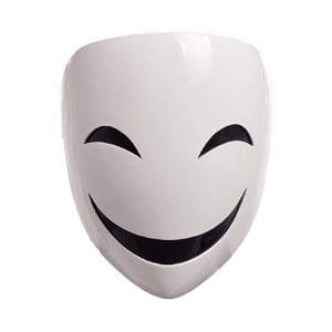 GK-O Anime Black Halloween Mask