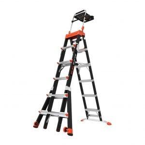 Little Giant Ladder 15131-001 Weight Rating Fiberglass Stepladder Systems