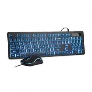 Rii Three Colors Backlit Business Keyboard