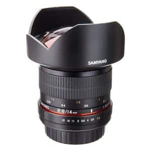 Samyang SY14M-C F2.8 14mm Canon Wide Angle Lens