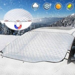 UBEGOOD Magnetic Edges Windshield Snow Cover