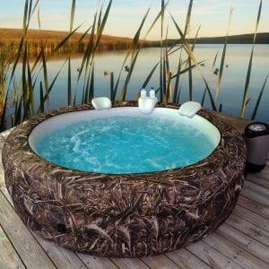 Vanish Spa 6-person Realtree Max5 Inflatable Hot Tub