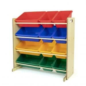 Humble Crew Kids' Toy Organizer with 12 Bins