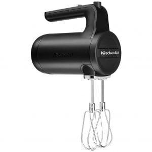 KitchenAid Cordless Hand Mixer, Black Matte