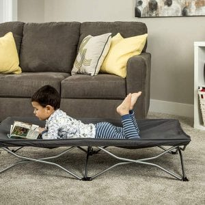 Regalo Portable Travel Cot, Includes Fitted Sheet