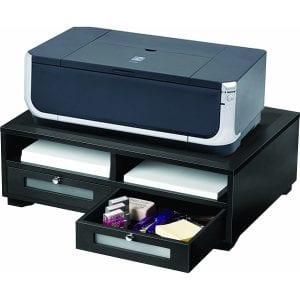 Victor 1130-5 Wood Printer Stand (Black)
