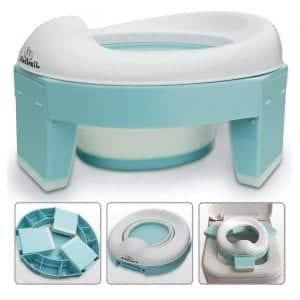 Bluesnail Portable Travel Toilet with storage Bag