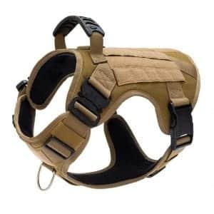 CHOLEGIFT Military Tactical Dog Harness