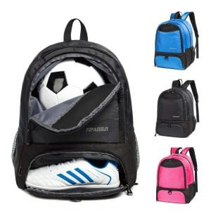 CapsLockYouth-Soccer-Backpack-Bags-Sports-Gym-Bag
