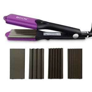 DSHOW 4 in 1 Hair Crimper Waver Straightener