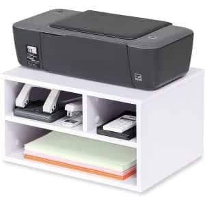 FITUEYES FDO304005WW Wood Printer Stands (White)