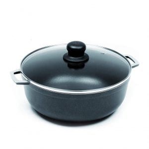 IMUSA USA Black Non-Stick Dutch Oven