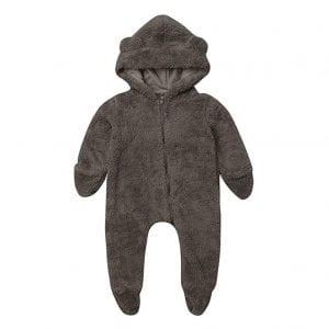 LXXIASHI Infant Unisex Baby Hooded Sherpa Bunting