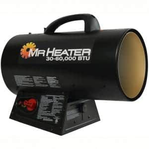 Mr. Heater MH60QFAV 60,000 BTU Portable Propane Forced Air Heater