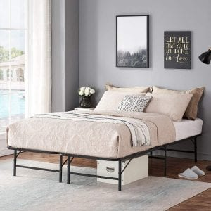 VECELO-14-Inches-Foldable-Metal-Bed-Frame
