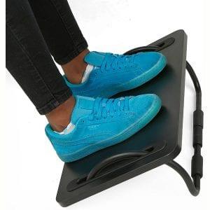 Mind Reader FTILT-BLK Tilting Ergonomic Foot Rest, Smooth Surface, Adjustable Angles