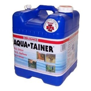 Reliance Products 7 Gallon Rigid Water Container
