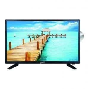 "SuperSonic High-Resolution Digital Noise Reduction 24"" TV"
