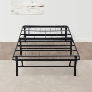 Olee-Sleep-14-Inches-Foldable-Bed-Frame