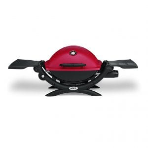 Weber Q1200 Liquid Propane Grill, Red