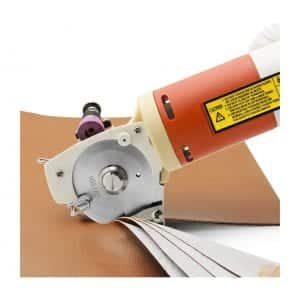 CGOLDENWALL Electric Rotary Fabric Cutting Machine
