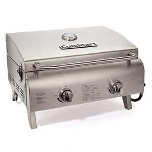 Cuisinart Chef's Style Two-Burner Tabletop Grill