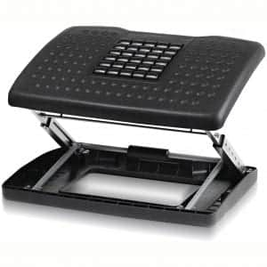 Halter F6068 Adjustable Height Foot Rest with Rollers for Foot Massage