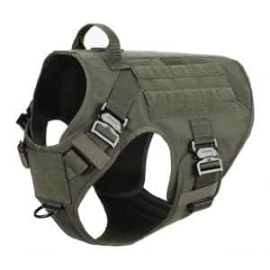 ICEFANG MOLLE Tactical Dog Harness
