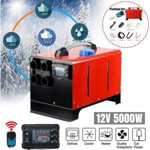 NO.32 12V Diesel Air Heater (Red)